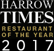 Harrow Times Restaurant of the Year